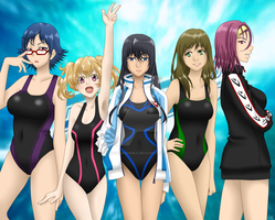 Free! Rule 63 by Hime-Takamura
