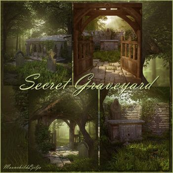 Secret Graveyard backgrounds by moonchild-ljilja
