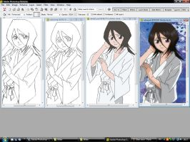 Screenshot - Rukia from Bleach by kimlien