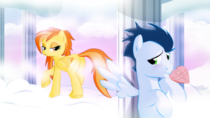 Spitfire and Soarin by Realider