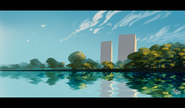 City Lake by Frostwindz