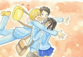 Drrr!! - So happy you're with me by Arwen-chan