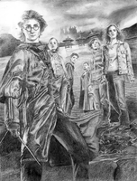 HP and the Goblet of Fire Poster - finished by meredith-grey