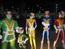 HHH Voltes Team by peacemakerzaragoza