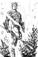 Aquaman Warm-up by stokesbook