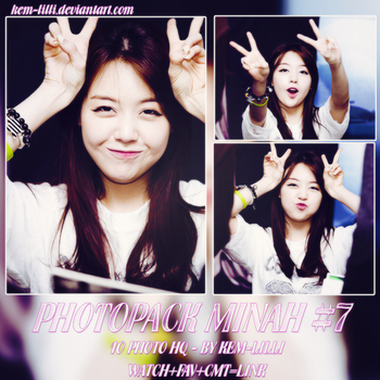 [PHOTOPACK] MINAH OF GIRL'S DAY #7 by Kem-Lilli