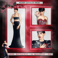 +Photopack png de Anne Hathaway. by MarEditions1