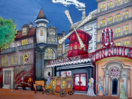 Moulin Rouge by ParadoxParade