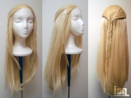 LoTR cos: Legolas wig by Stealthos-Aurion