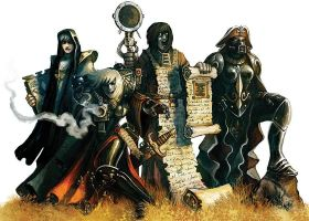 The Adepta Sororitas by Corbella