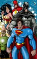 JLA_colored by JeffieB