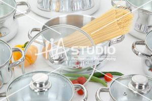 Cooking pots Glass cover by Hastudio