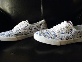 Paisley Shoes by MaryGracee