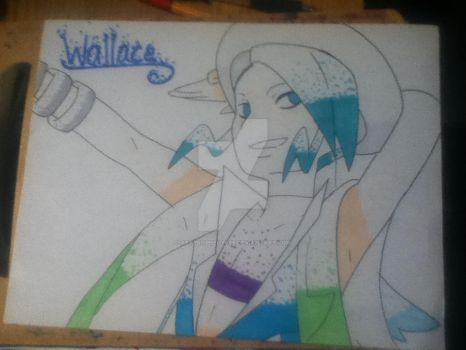 Wallace Pokemon Omega Ruby/Alpha Sapphire by ArtProphecy666