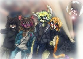 TheGang by Floppy-Doggie