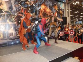 Spidey confronts Hobgoblin and Kraven the Hunter by nx20