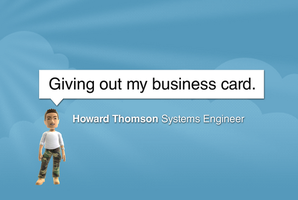 Twitter Style Business Card by recon