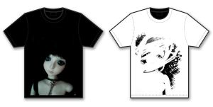 BJD Tshirt black and white by Silvestrin