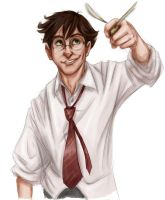 harry from highschool lovers by Forbis