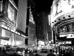 Time Square - b+w by pablo12288