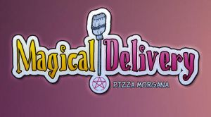 Magical Delivery Logo by maigrane