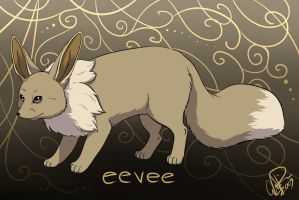 Eevee by twapa