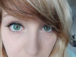 Dark Magician Girl contacts :3 by MochiFairy