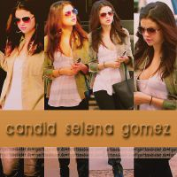 Candid Selena Gomez 2 by FlyWithMeBieber