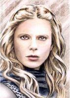 Emilia Fox mini-portrait by whu-wei