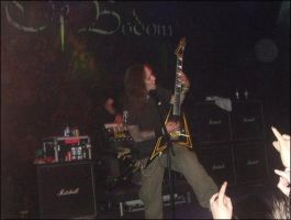 Alexi laiho doing a solo by LividThor