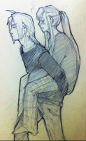 fma - sick Winry by roolph