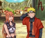 Naruto x Sasame: Meeting Again (Close-up) by JuPMod