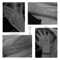 to write love on her arms '09 by summernightangel