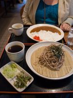 Zaru Soba and Curry Rice by SuperPope