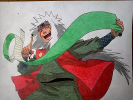 Jiraiya by Hdomi