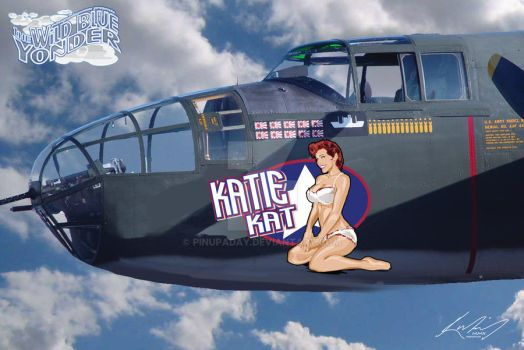 Wild Blue Yonder - Katie by pinupaday