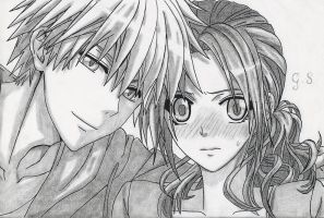 Usui and Misaki by ClaireStryfe