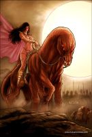Dejah Thoris 37 cover colors by FabianoNeves