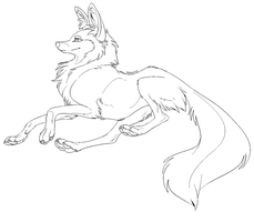Free lineaart by Kipine