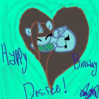 Happy Birthday Desiree! by XRadioactive-FrizzX