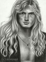 Dave Mustaine 2 by SavanasArt