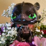 Painted Toothless poptoy by Kelsee-F