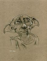 Dobby from Harry Potter by Stungeon