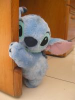 Stitch fluffy by nekokevin