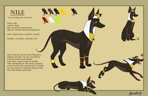 Nile ref sheet by Bonday