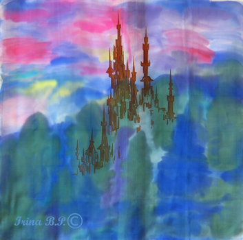 The Castle in the Clouds by IrinaBP