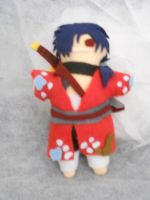 Koujaku Plushie by ashe-the-hedgehog