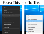 Windows 10 Taskbar Context Menu Tweaker by Vishal-Gupta