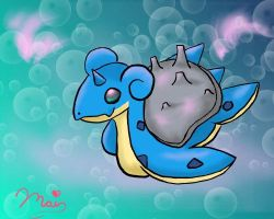 Linadoon's Request: Lapras by Gothicamew