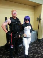 Ghost In A Shell Couple Cosplays by GamerZone18